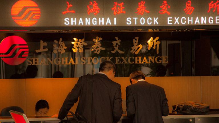 Китайският фондов пазар е загубил $7,56 милиарда през май
