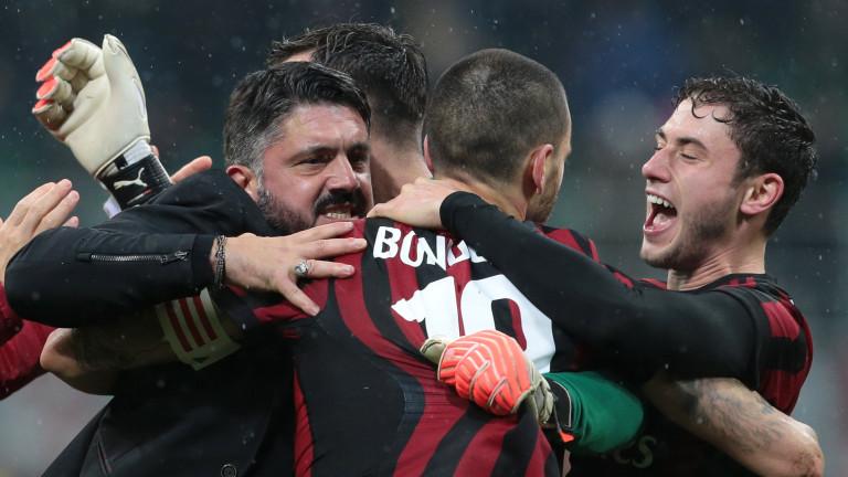 Гатузо: Играчите на Милан се развиват физически и ментално