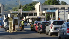"""Пореден ден със задръстване в посока Гърция на ГКПП """"Кулата"""""""