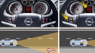 Opel Insignia с интелигентна система за сигурност