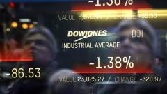 Докладът за работните места в САЩ потопи акциите