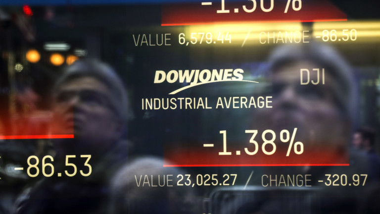 Нов спад на глобалния фондов пазар заради несигурността в отношенията между САЩ и Китай