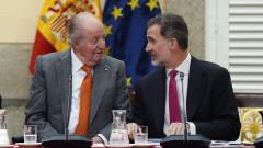 Испанският крал се отказва от наследството на баща си