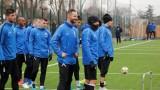 Две тренировки за футболистите на Левски в Сандански