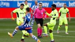 Луис Суарес върна Атлетико на върха в Испания, късна драма за столичани срещу Алавес