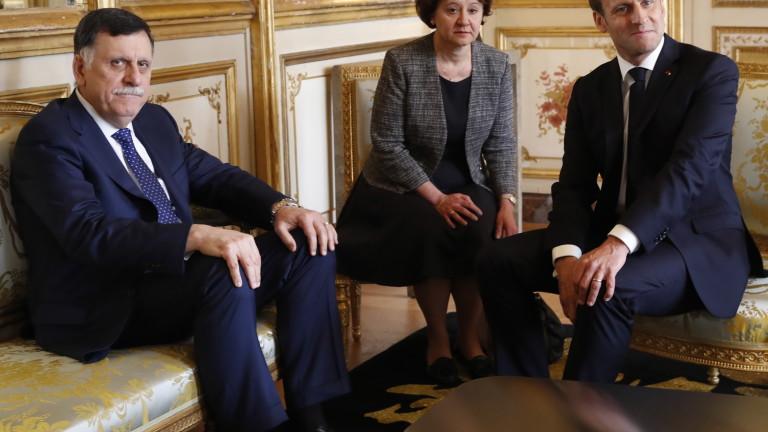 Франция се обяви за безусловно примирие в Либия