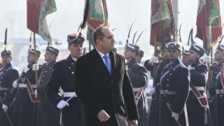 Президентът Радев присъства на Богоявленския водосвет на бойните знамена