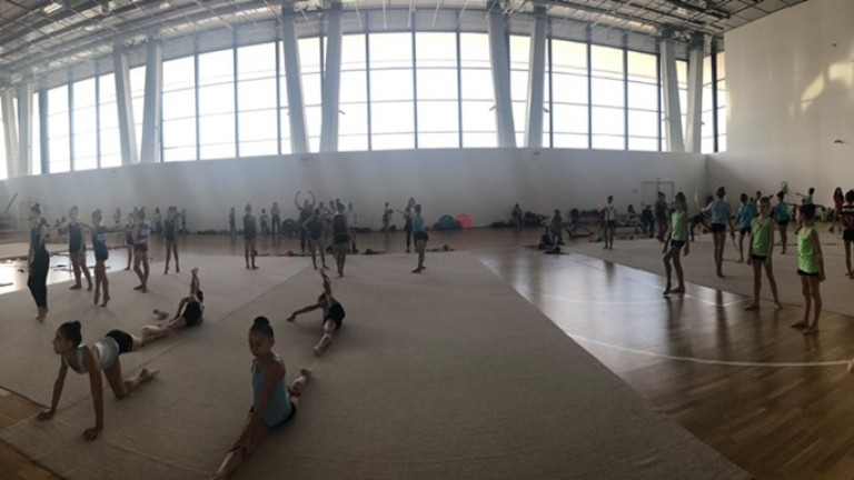 Треньорската комисия към Българската федерация по художествена гимнастика организира традиционния