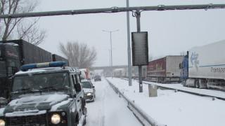 Километрично задръстване по пътя Варна-Добрич