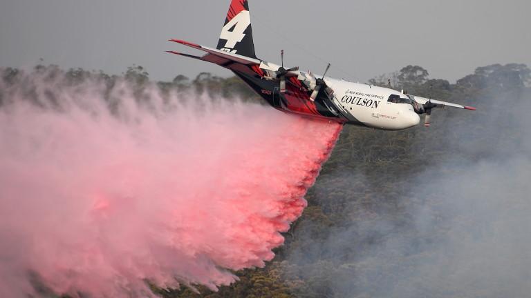Трима американци загинаха при падането на самолет, гасящ пожарите в Австралия