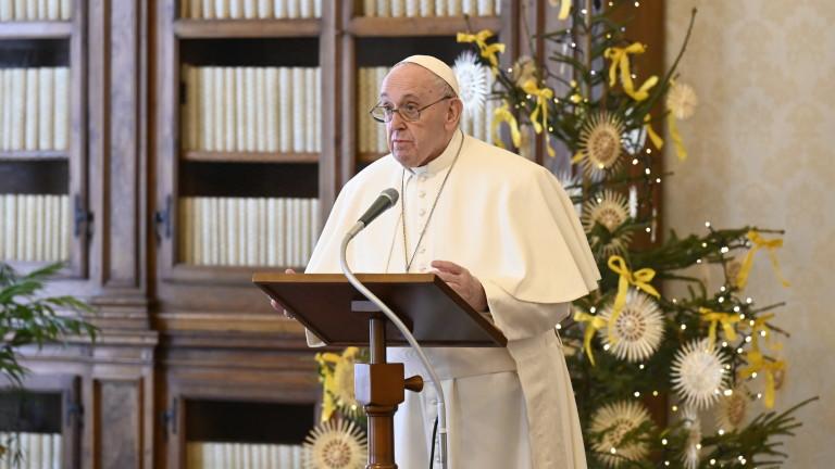 Остро осъди в американския Конгрес от последните дни папа Франциск,