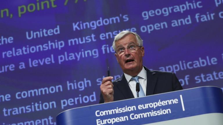 Барние: Търговското споразумение между Великобритания и ЕС изглежда малко вероятно