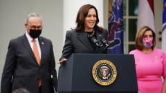Харис решена да се бори за равенството на половете в САЩ