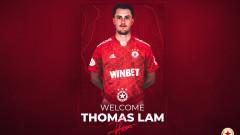 Томас Лам е подписал за два сезона с ЦСКА