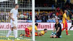 Рома постигна своето срещу закъсалия Беневенто, новаците си вкараха два автогола