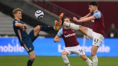 Райс опипва почвата за трансфер в Манчестър Юнайтед