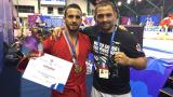 Валентин Бенишев е европейски шампион по бойно самбо!