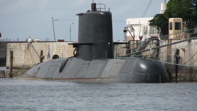 Издирват подводница на ВМС на Аржентина