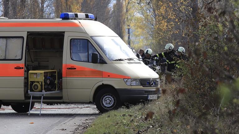 Катастрофа временно затвори пътя Пампорово – Проглед