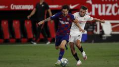 Севиля - Барселона 0:0, равностойна игра