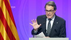 Президентът на Каталуния Артур Мас се оттегля