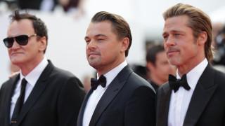 Леонардо ди Каприо, Брад Пит и Куентин Тарантино - трима стилни мъже в Кан