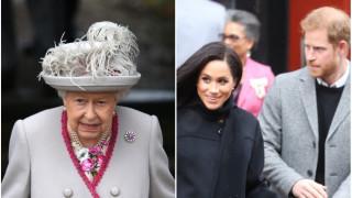 Какво подари кралицата на Хари и Меган