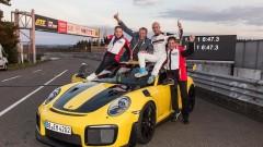 Porsche постави нов рекорд на трасето в Нюрбургринг (ВИДЕО)