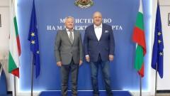 Министър Кралев проведе среща с посланика на Република Молдова Н. Пр. Щефан Горда