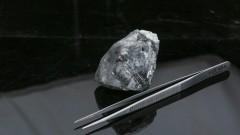 Един от най-големите диаманти в света бе открит в Ботсвана
