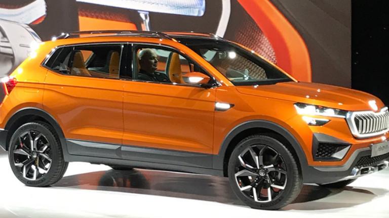 Volkswagen представи компактния кросоувър Taigun, разработен специално за индийския пазар.