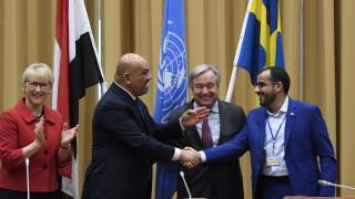 Враждуващите в Йемен се споразумяха да прекратят боевете в ключов град