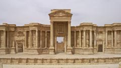 Щетите в Палмира по-малки, отколкото археолозите се опасявали