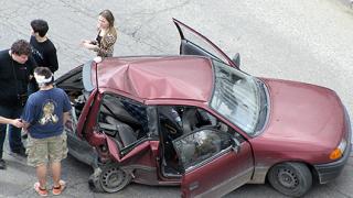 """Тежка катастрофа на столичния бул. """"Борис III"""""""