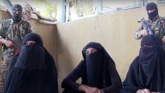"""В Сирия хванаха терористи от """"Ислямска държава"""", преоблечени като жени"""