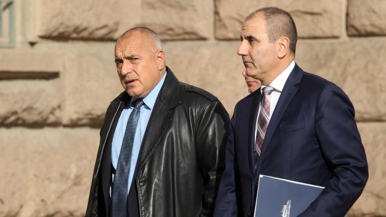 Борисов пусна машината за страхуване