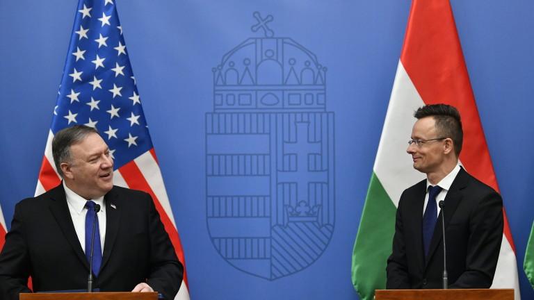 Унгарският външен министър Петер Сиярто е подчертал по време на