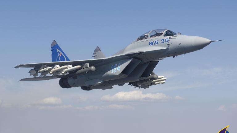 Русия планира над $10 милиарда продажби от новия МиГ-35