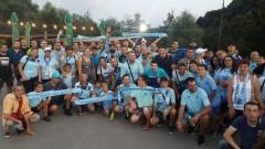 Феновете на Дунав с европейско поведение, изчистиха сектора за гости след мача с Лудогорец
