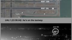 Пътническият самолет на Air Canada прелетял на 18 м над четири самолета в Сан Франциско