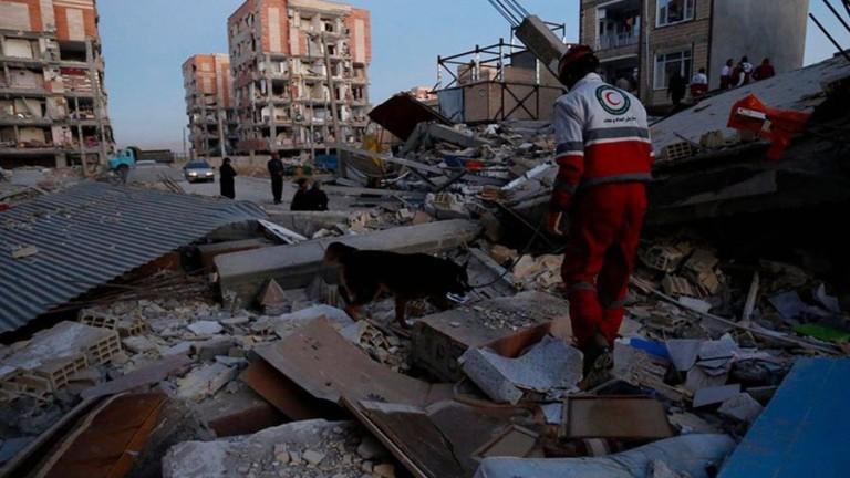 Резултат с изображение за земетресение в югоизточен Иран