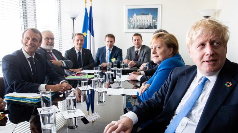 Меркел попарила надеждите на Борис Джонсън за Брекзит сделка