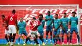"""Манчестър Юнайтед разгроми Борнемут в голово шоу, две дузпи и много емоции на """"Олд Трафорд"""""""