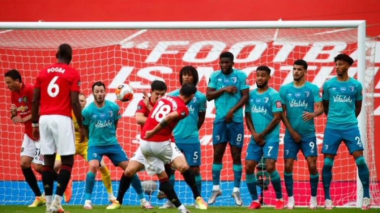 Манчестър Юнайтед победи Борнемут в двубой от 33-ия кръг на