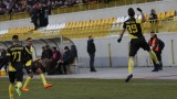 Червен картон, шест минути продължение и само един гол разлика между Ботев (Пд) и Славия