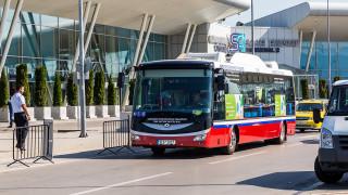Безплатен електробус свързва двата терминала на Летище София