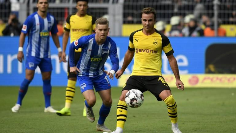Футбол борусия- вольфсбург
