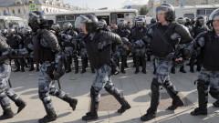 Повече от 800 задържани след протеста в Москва