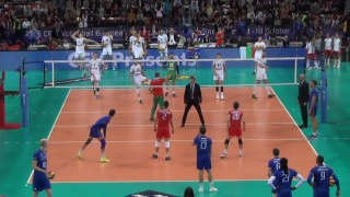 България - Франция 23-25, 15-25, 22-25