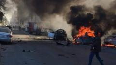 Нападатели се самовзривиха във външно министерство на Либия в Триполи